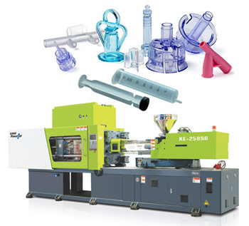 plastic production machinery